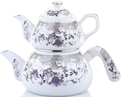 PLATINUM (#516) TEA POT 1PC