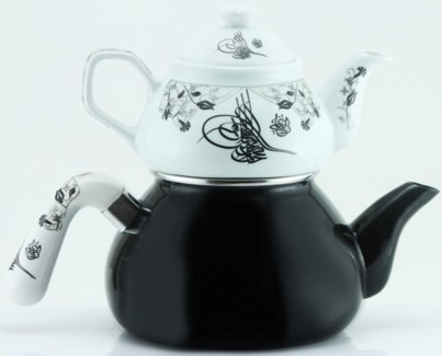 TUGRA (#02) TEA POT 1PC