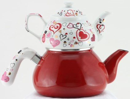 KIRMIZI INCI (#01) TEA POT 1PC