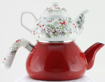 KIRMIZI INCI (#03) TEA POT 1PC