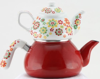 KIRMIZI INCI (#06) TEA POT 1PC