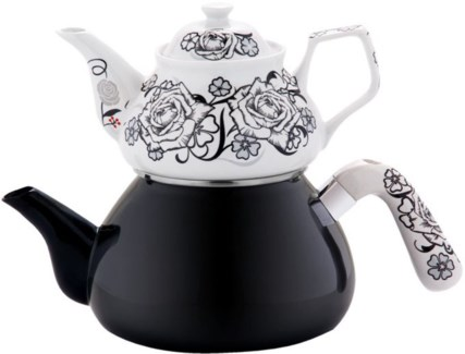 SIYAH INCI (#04) TEA POT 1PC