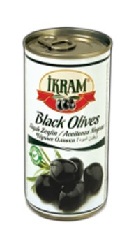 WHOLE BLACK OLIVES 370GRX24 TIN