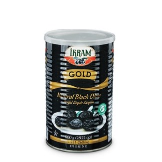 BLACK OLIVES GOLD BLACK TIN (2XS) 800GRx6