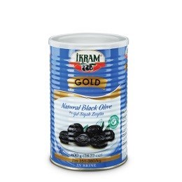 BLACK OLIVES GOLD BLUE TIN LESS SALT  (L) 800GRx6