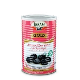 BLACK OLIVES GOLD PINK TIN LESS SALT (S) 800GRx6