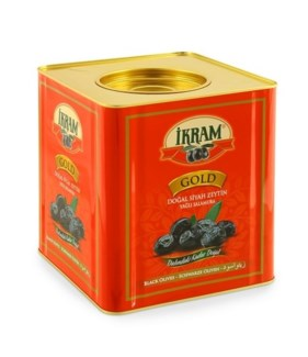 BLACK OLIVES GOLD SELE RED TIN 10KGx1