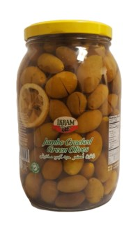 GREEN QUEEN CRACKED OLIVES 2000GRx6 JAR (PROMO)