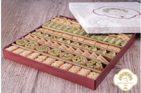 ASSORTED BAKLAVA 800GRx12