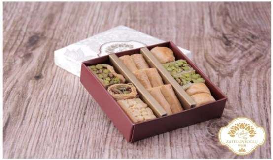 ASSORTED BAKLAVA 100GRx24