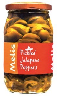 PICKLED JALAPENO PEPPERS 650GRx12