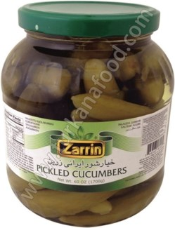 BABY CUCUMBER PICKLES JAR 1.7KGx6