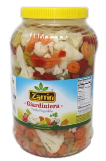 GIARDINIERA PICKLES 1 GallonX4