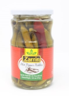 HOT FRENK PEPPER PICKLES 720MLX12