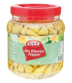 BABY HOT PEPPER PICKLES 1600GRx12