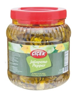 JALAPENO HOT PEPPER PICKLES 1680GRx12