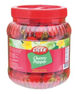 CHERRY HOT PEPPER PICKLES 1650GRx12