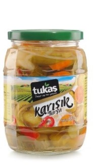 MİX PICKLES 720GRx12