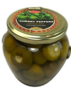GREEN CHERRY PEPPERS 580GRx6