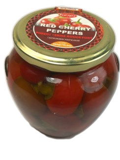 RED CHERRY PEPPERS 580GRx6