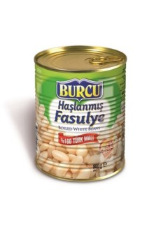 BOILED WHITE BEANS 800GRx12 (SUMMER PROMO)