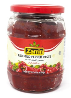 MILD PEPPER PASTE (KOSHER) 670GRx12 (SUMMER PROMO)