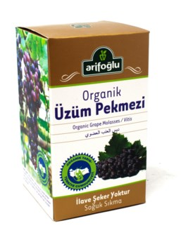ORGANIC GRAPE MOLASSES 430GRx12