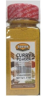 CURRY POWDER 6.17OZx12