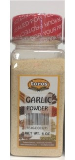 GARLIC POWDER 8.81OZx12