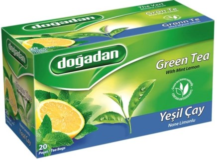GREEN TEA MINT LEMON (2850) 20TBx12