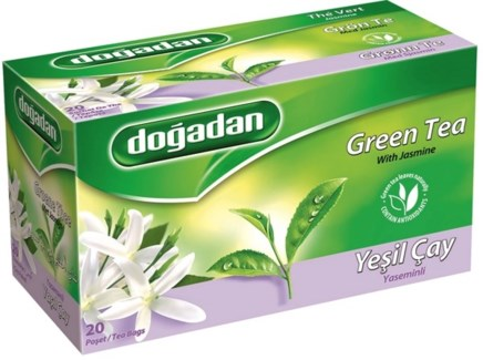 GREEN TEA W/JASMIN (2843) 20TBx12