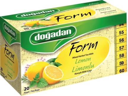 FORM DIET TEA LEMON (1226) 20TBx12