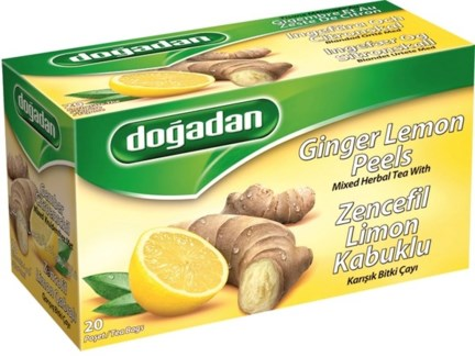 LEMON GINGER TEA (1714) 20TBx12