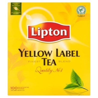 LIPTON YELLOW LABEL TEA 100PCSx12