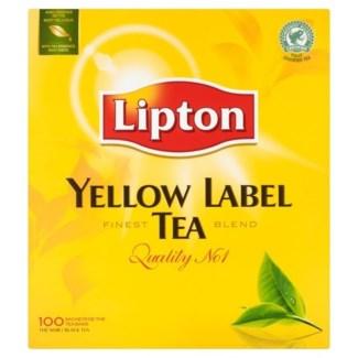 LIPTON YELLOW LABEL TEA 100PCSx12