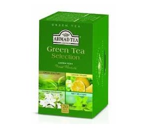 GREEN TEA SELECTION TB 20TBx6