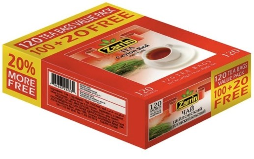 CEYLON (PROMO) RED TEA BAG 120TBx21