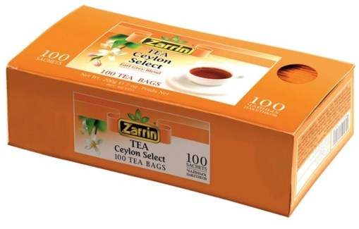 CEYLON EARL GREY TEA BAG 100TBx12