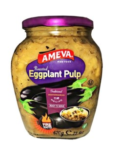 GRILLED EGGPLANT PULP 670GRx12 (PROMO)