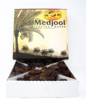 MEDJOOL DATES 5LB FANCY