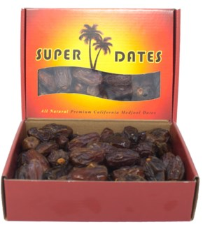 MEDJOOL SUPER DATES 2LBX16