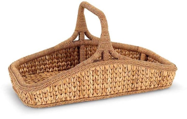 Sweater Weave Wildflower Basket