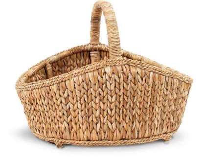Sweater Weave Cottage Basket