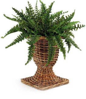 French CountryWicker Urn