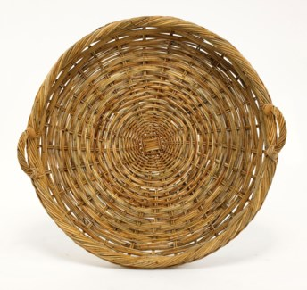 French Country Round Tray
