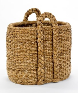 Oval Hearth Rush Basket