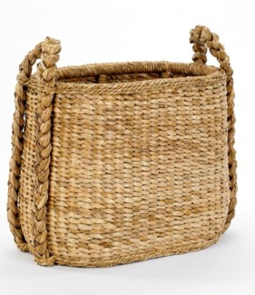 Oval Fireside Rush Basket