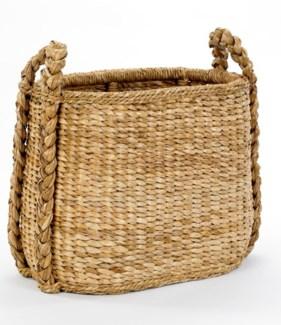 Oval Fireside Rush Basket