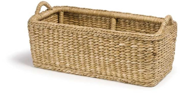Sweater Weave Hearth Basket