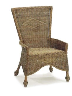 Antiqued White Eastern Shore Side Chair